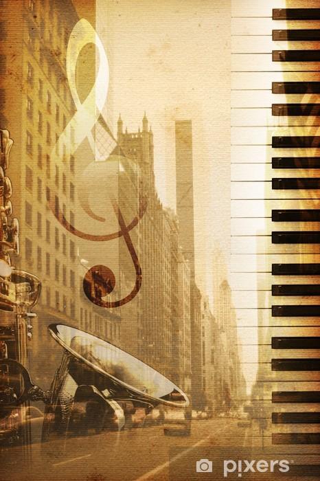 Naklejka Pixerstick Broadway -