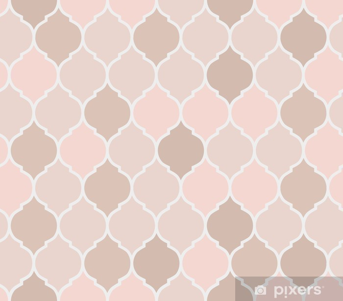 White And Pink Marble Pattern Postcard By