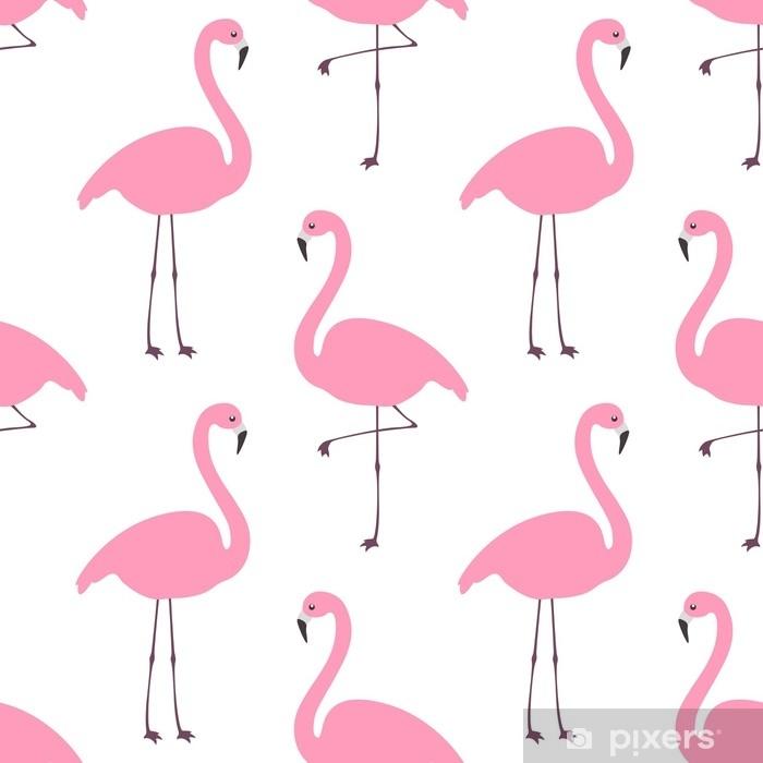 Flamingo Wallpaper Wall Mural Pixers We Live To Change