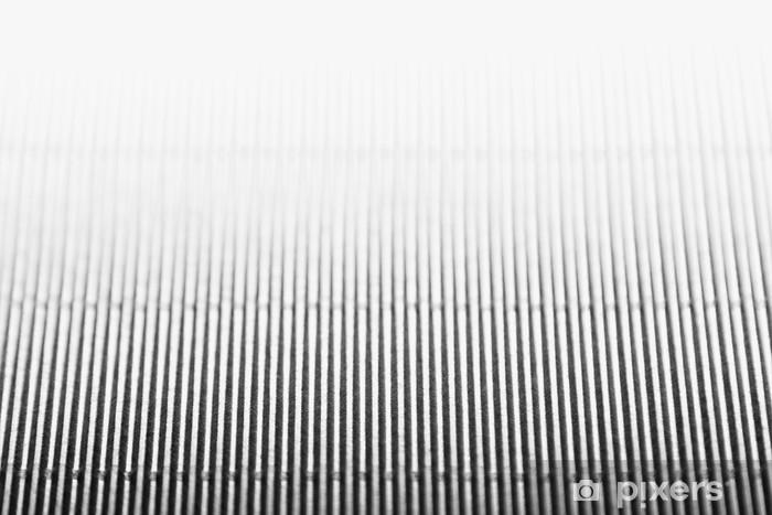 Papier peint vinyle Résumé minimaliste fond rayé blanc avec des lignes verticales et en-tête. Copier l'espace. La texture. - Ressources graphiques