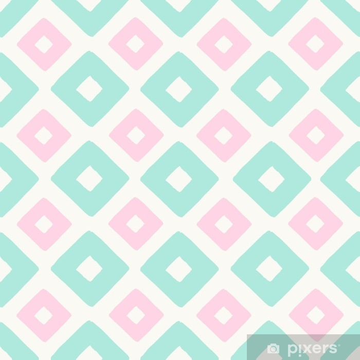 Pixerstick Aufkleber Geometrisches nahtloses Muster - Grafische Elemente