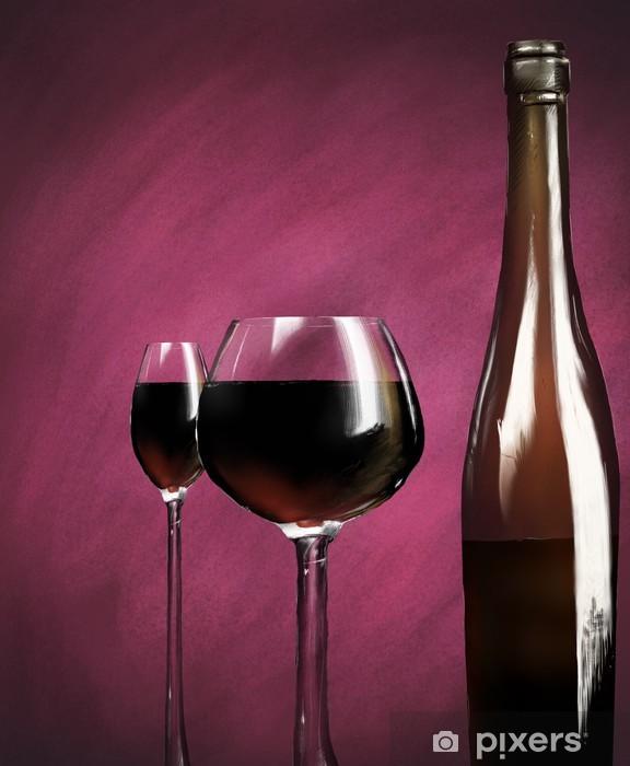 Fototapeta winylowa Wino - Tematy
