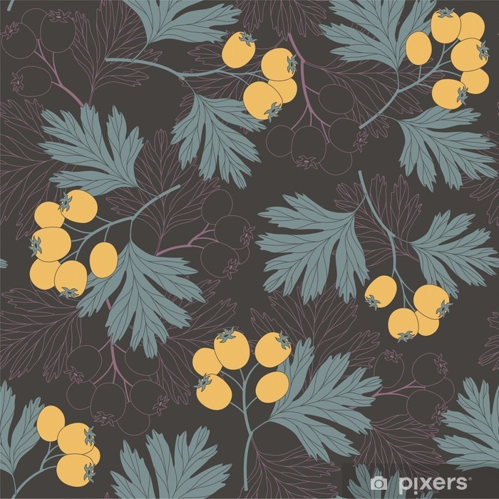 hawthorn berries Pixerstick Sticker - Plants and Flowers
