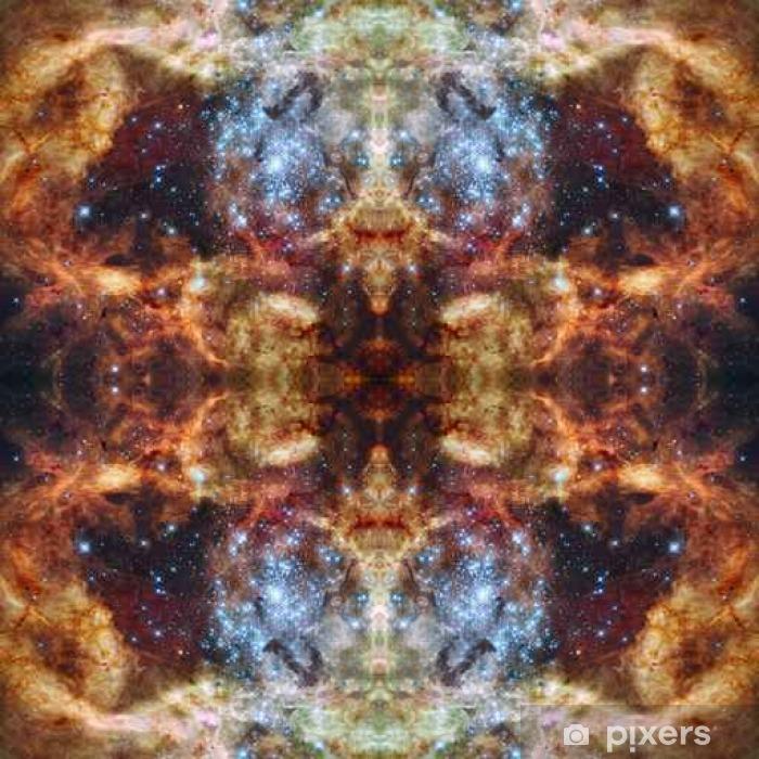 Fototapet av vinyl Universets symmetriske bakgrunn. Elementer av dette bildet møblert - Miljøet
