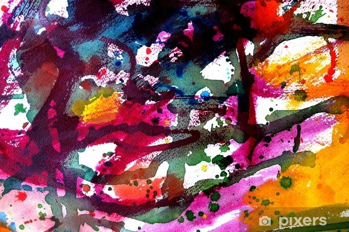 Sticker Pixerstick Design de fond peinture abstraite - Ressources graphiques