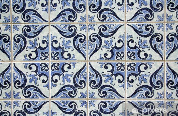 Portugese Tegels Vinyl : Fotobehang traditionele portugese tegels u pixers we leven om