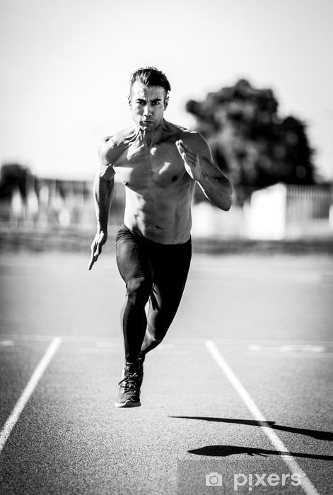 Fototapeta winylowa Sprinter człowiek - Sport