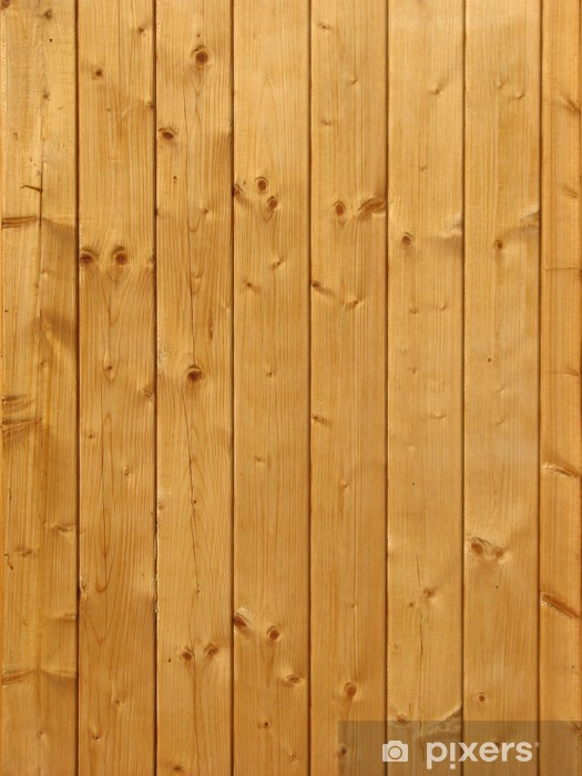Bois (planches) Vinyl Wall Mural - iStaging