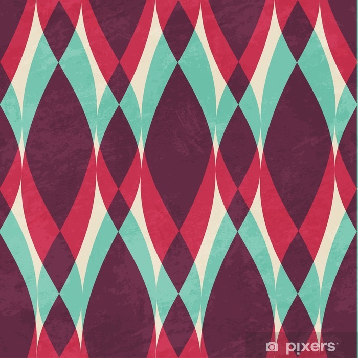 vintage geometric seamless pattern Vinyl Wall Mural - Graphic Resources