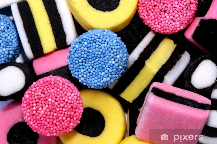 Fototapeta winylowa Tuczący - Słodycze i muffinki