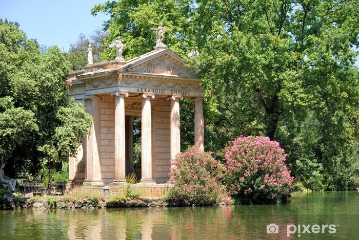 Vinilo Pixerstick Villa Borghese, Roma - Ciudades europeas