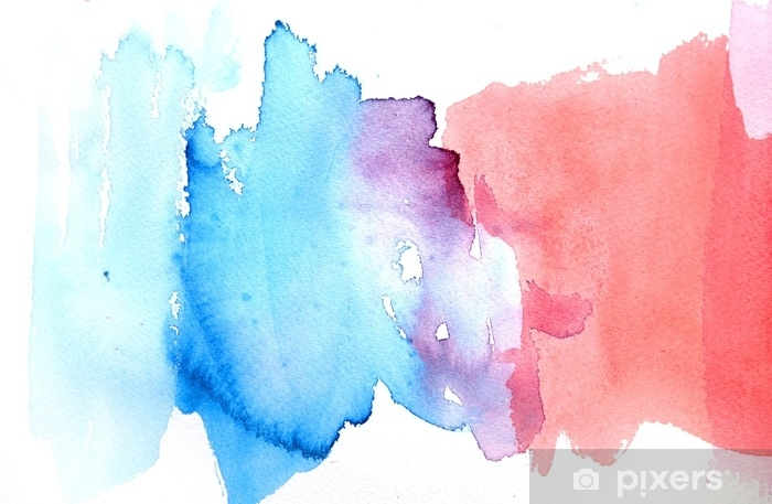 Abstract Watercolor Background Design Wall Mural Pixers