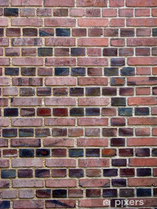 Nálepka Pixerstick Cihlová zeď - Témata