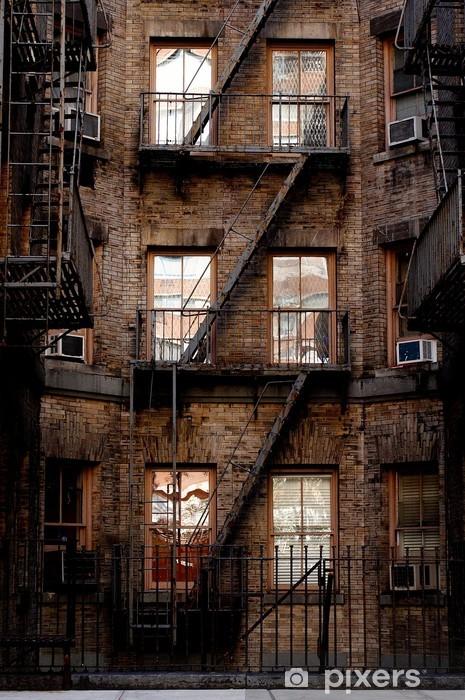 Papier peint vinyle La construction à New York - Amérique