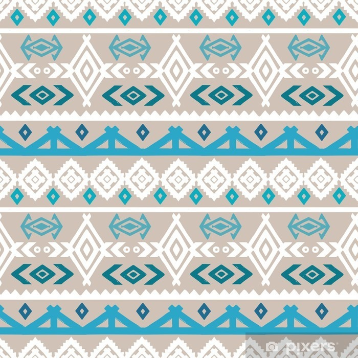 Tribal art boho ethnic seamless pattern Self-Adhesive Wall Mural - Graphic Resources