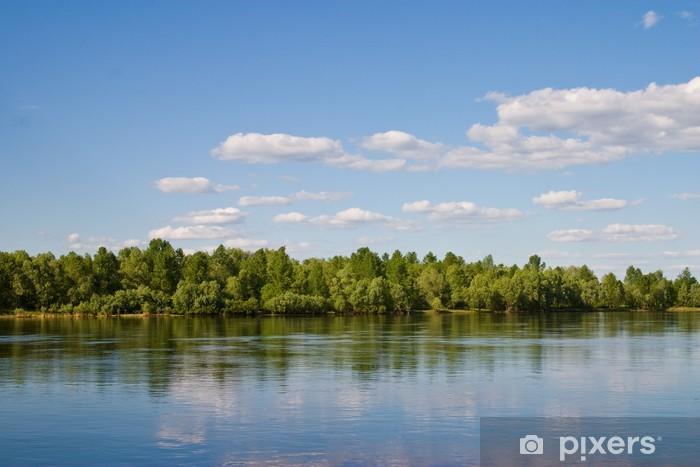 Fototapeta winylowa Krajobraz - Krajobraz wiejski
