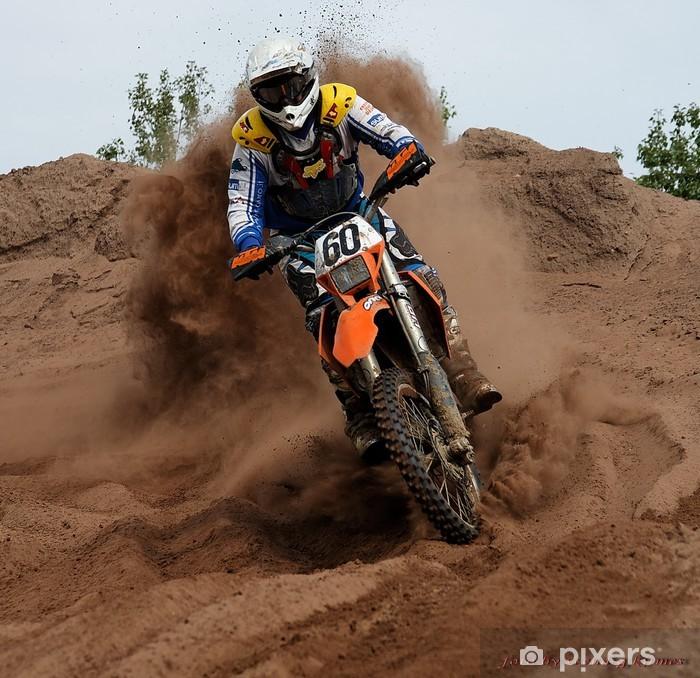 motorradcross i Pixerstick Sticker - Extreme Sports