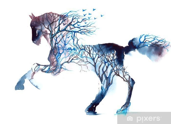 Autocolante Pixerstick Horse - iStaging