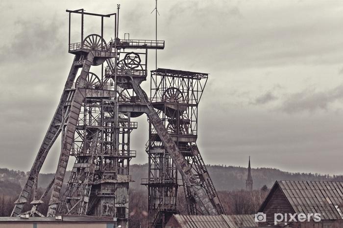 Papier peint lavable Ancienne mine de charbon - Industrie