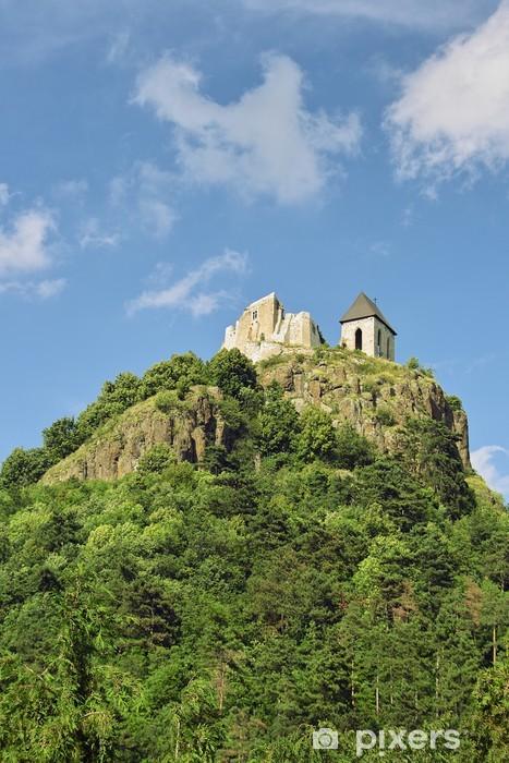 Pixerstick Aufkleber Schloss von Fuzer, Ungarn - Europa