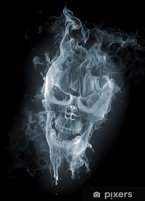 Skull Smoke Sticker Pixers 174 We Live To Change