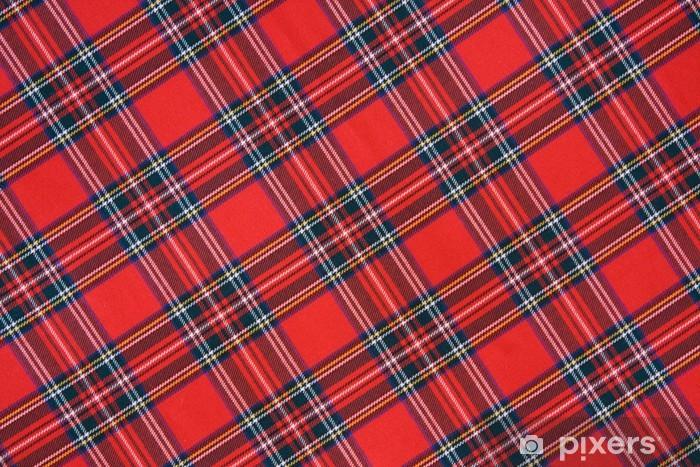 Royal Stewart tartan Pixerstick Sticker - Styles
