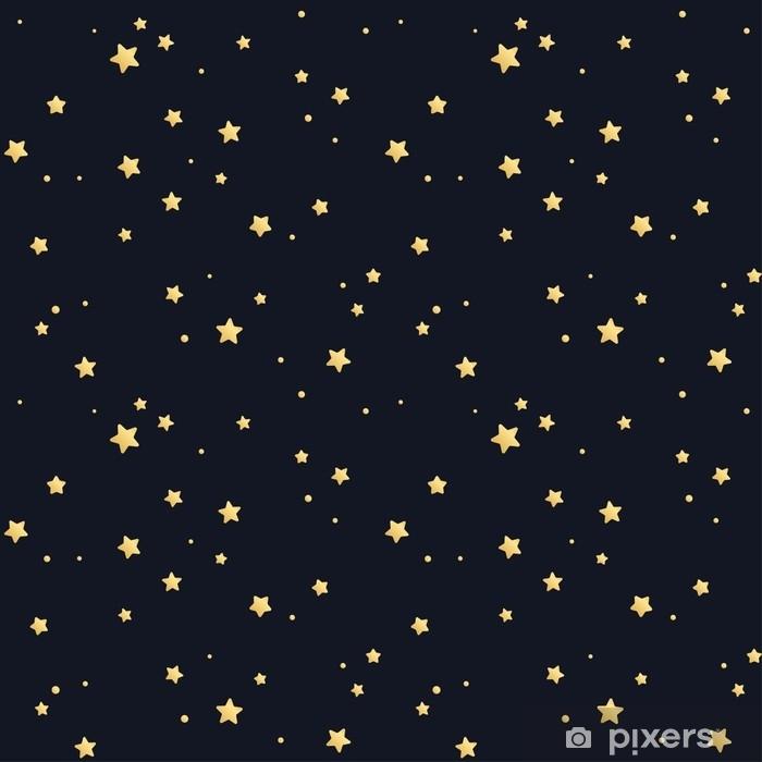 Fototapeta winylowa Bez szwu wzór gwiazdy - Zasoby graficzne