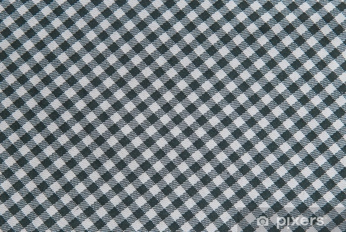 Gentil Black And White Tablecloth Background , Plaid Fabric Texture Wall Mural    Vinyl