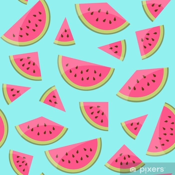Adesivo Pixerstick Hintergrund melonen nahtlos - Risorse Grafiche