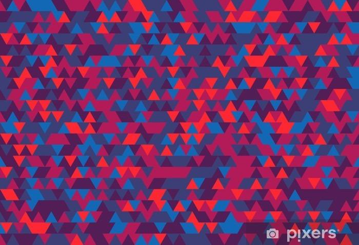 Vinyl-Fototapete Zusammenfassung Hintergrund der Dreiecke. Die Abstufung von Violet. Violetten Reflexen. -