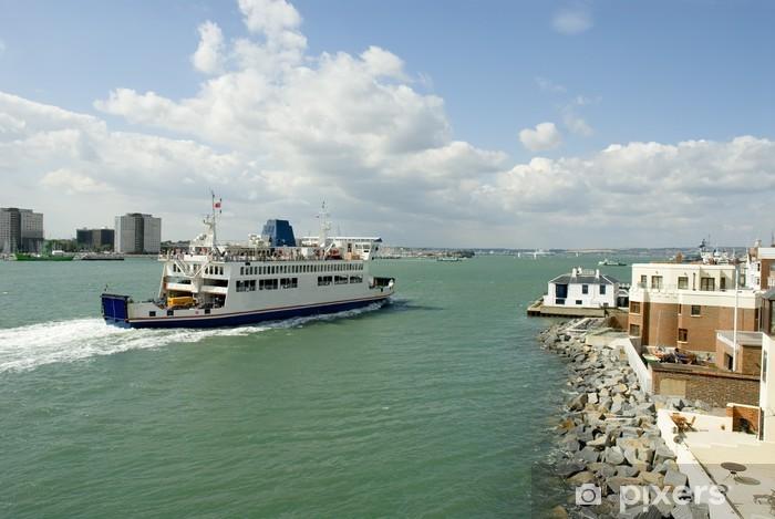 Vinilo Pixerstick Transbordador - Barcos