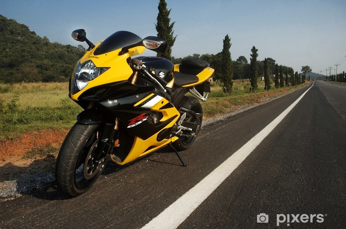 Naklejka Pixerstick Suzuki GSX-R1000 Superbike - Transport drogowy