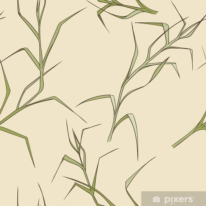 Naklejka Pixerstick Powtarzalne kwiatowy wzór - Zasoby graficzne