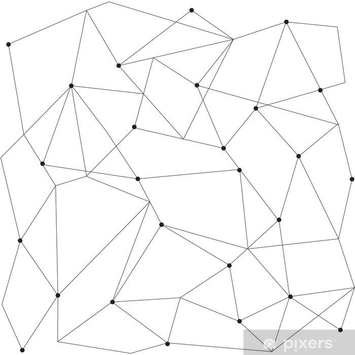 Naklejka Pixerstick Skandynawskich geometryczny nowoczesny szwu - Zasoby graficzne
