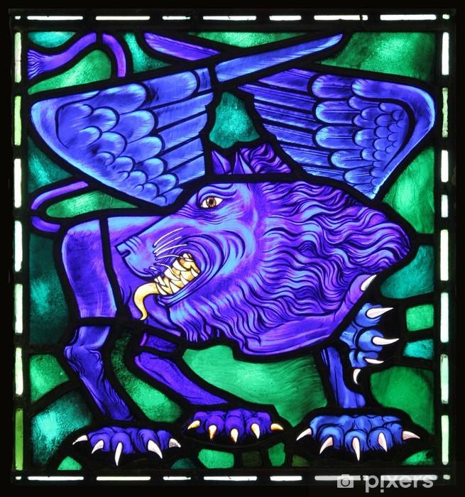 Fototapeta winylowa Winged Lion Świętego Marka Symbol ewangelicki - Religie