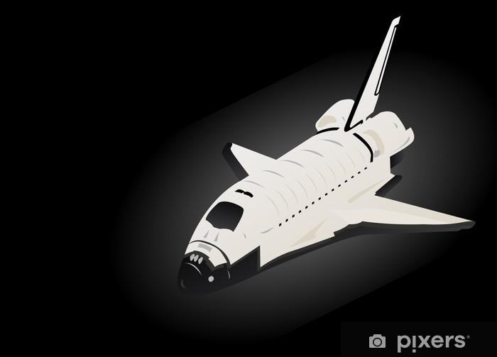Pixerstick Aufkleber Weltraumfähre - Weltall