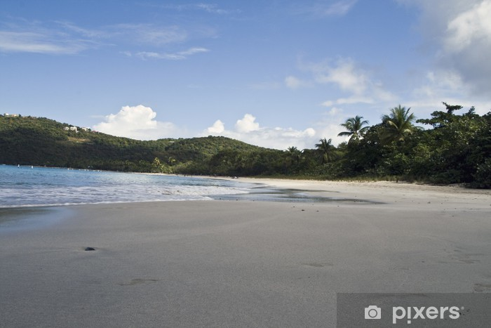 Carta da Parati in Vinile Magens Bay Beach a St. Thomas - America