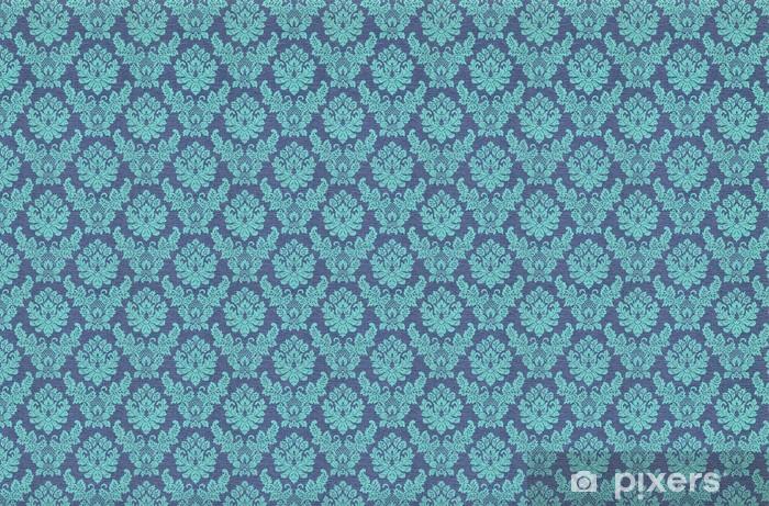 Fototapete Retro Blaue Tapete Pixers Wir Leben Um Zu Verändern