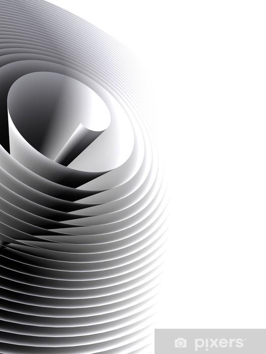 Vinilo Pixerstick Cubierta abstracto - Señales y símbolos
