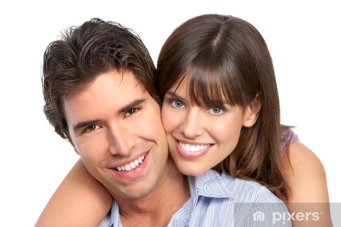 Pixerstick Dekor Par i kärlek - Par
