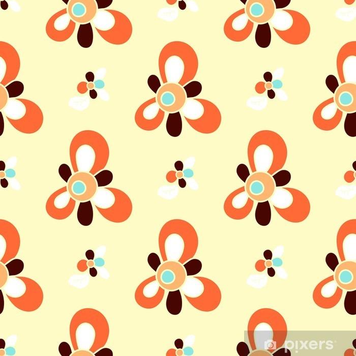 Fotomural Estándar Sin fisuras patrón floral para Patchwork - Recursos gráficos