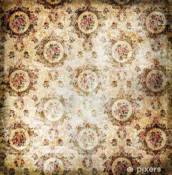 Vintage Wallpaper With Classy Patterns Wall Mural Pixers We