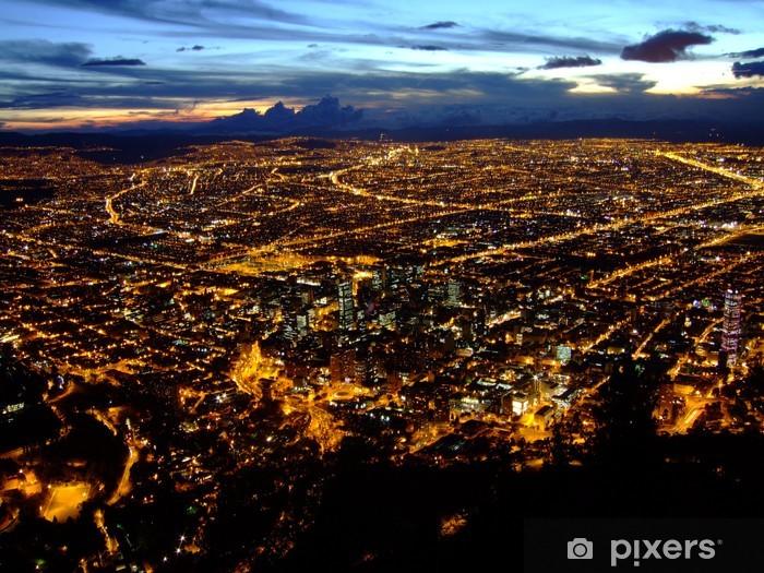 Naklejka Pixerstick Bogota miasto - Ameryka
