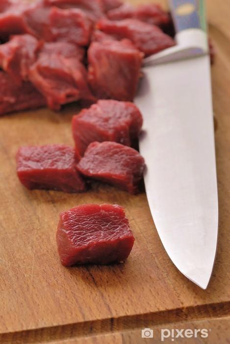 Vinilo Pixerstick Viande - Carne