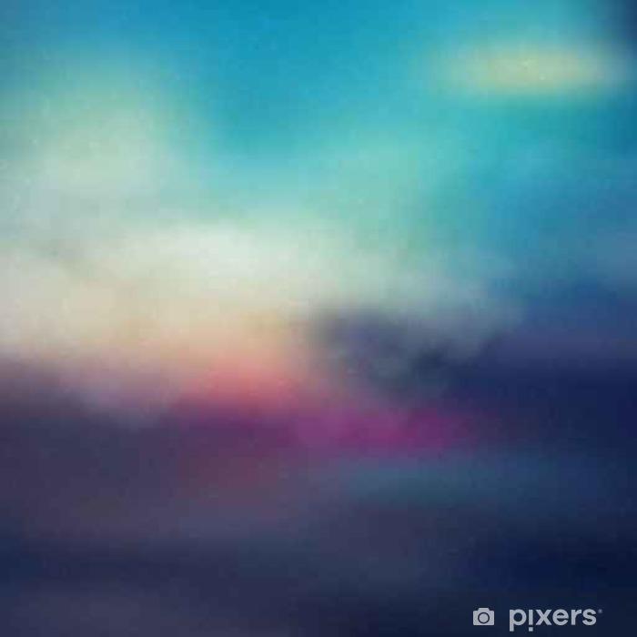 Fototapeta samoprzylepna Kolorowe streszczenie tle zachodu słońca - Do łazienki