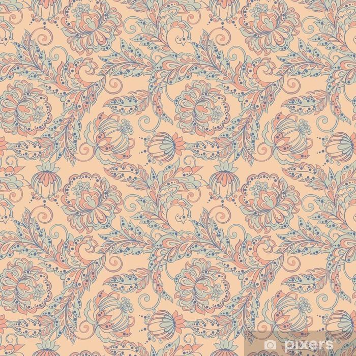 Sticker Pixerstick Floral seamless pattern - Ressources graphiques