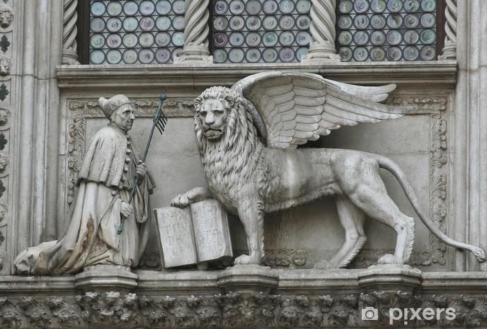 Fototapeta winylowa Lew w Wenecji - Zabytki
