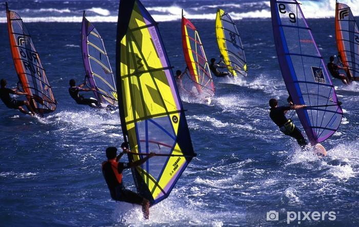 Papier peint vinyle Windsurf 009 - Sports aquatiques