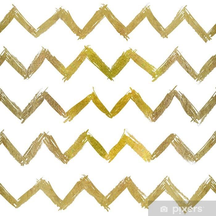 abstract seamless golden pattern Pixerstick Sticker - Graphic Resources