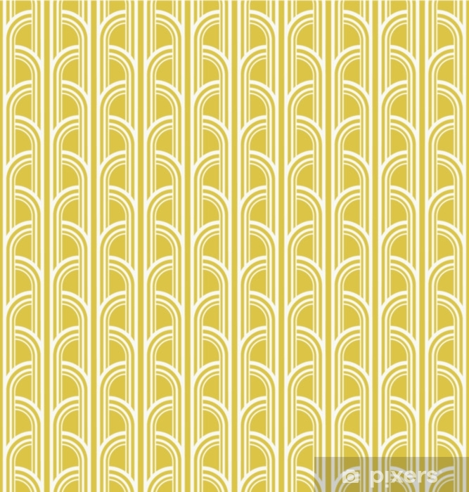 seamless vintage geometric pattern Vinyl Wall Mural - Graphic Resources
